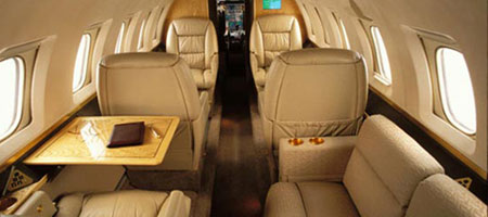 Hawker 800 Private Jet
